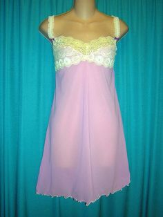 d1ffdc613ec GORGEOUS BRIGHT PINK JOSIE LACY CHEMISELRGNWOT LINGERIE  fashion  clothing   shoes  accessories  womensclothing  intimatessleep (ebay link)