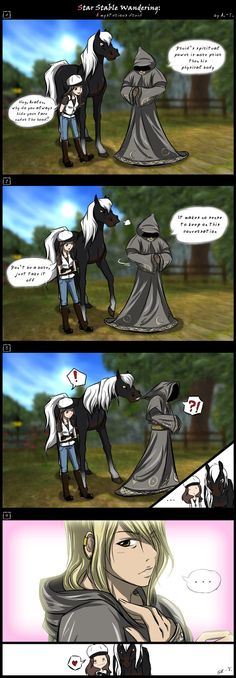 Avalon's secret - Star Stable Online Comics by Art-Trifle.deviantart.com on @DeviantArt