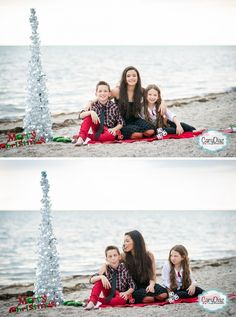 cute pic idea Gift suggestions: Christmas is coming Christmas or the Christ festival, the Event of li. Beach Christmas Pictures, Xmas Photos, Family Christmas Pictures, Family Christmas Cards, Family Beach Pictures, Holiday Pictures, Beach Pics, Christmas Pics, Winter Pictures