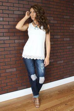 L & B > Plus Size Jeans > #LB061-X − LAShowroom.com