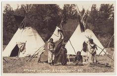 Assiniboine children - circa 1920
