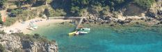 The official website of Paleokastritsa Hotel Zefiros. One of the family operated corfu hotels right on the beach of Agios Spyridon in Paleokastrisa. Corfu Hotels, Triple Room, Corfu Island, Parasailing, Cool Rooms, Great View, Virtual Tour, Canoe, Where To Go