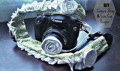 Four Marrs and One Venus: DIY Camera Strap and Lens Cap Keeper