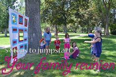 pinterest family reunion kids crafts | Jump Start Your Family Reunion Planning