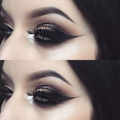 Serving you some eye drama from the talented wearing 'Paradox' lashes! Get down with this smokey eye this weekend - perfect for the weekend shenanigans you know are ahead! 👯 Tag a babe who can rock this look. Glam Rock Makeup, Sexy Makeup, Dark Makeup, Beauty Makeup, Brown Makeup, Makeup Style, Gorgeous Makeup, Beauty Art, Makeup Goals