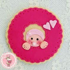 Mi tarta preferida : Como decorar galletas de bebé para bautizo o baby shower