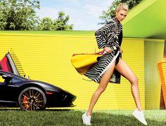 Yellsvan design :: Karlie Kloss By Tom Munro For Us Glamour September 2015