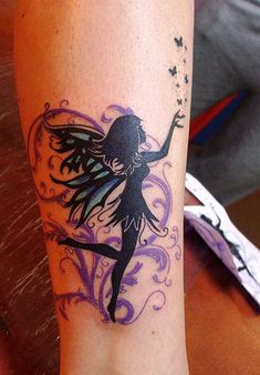 Fairy Tattoos and the Magical World of Ink  Let's explore the meaning behind fairy tattoos. Look through our fairy tattoos gallery and find something to inspire you!