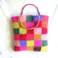 Crochet Bag Pattern Tutorial pdf Crochet Felted Bag por GraceG2