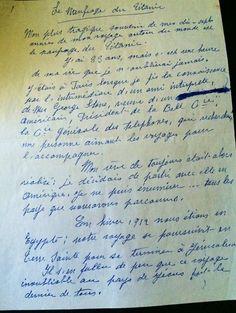 La lettre datant de 1955 d'une Iséroise rescapée du naufrage du Titanic enflamme l'Angleterre
