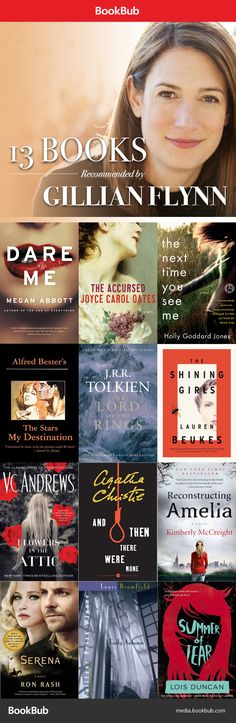 Gone Girl author Gillian Flynn recommends her favorite books -- including a few books to read if you love Gone Girl!