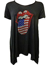 New Xclusive Collection Women's Sequin Studded American Flag Print Hanky Tunic Tops online. Find the perfect Nikibiki Tops-Tees from top store. Sku MEQZ59888UJCK55234