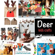 deer - kids crafts