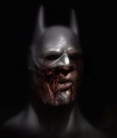 Zombie Batman by TLishman.deviantart.com on @deviantART