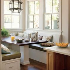Traditional Kitchen Bay Window Seating Design, Pictures, Remodel, Decor and Ideas - page 2