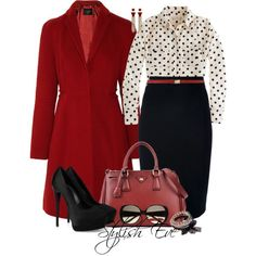 stylish eve outfits 2014 | Stylish-Eve-2013-Red-Winter-Outfits-Looking-Fabulous-in-Red-is-a ...