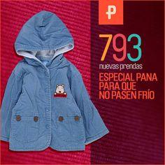 793 Novedades entrando por la puerta y especial tejidos de pana. Apúntate al Boletín para ser el primero en enterarte...! http://percentil.com/toda-la-ropa