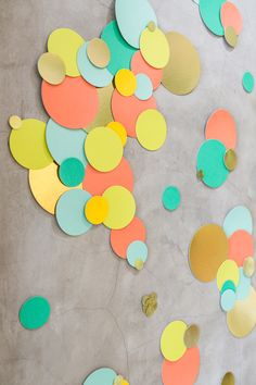 Oh Joy for Target Garden Party -- wall dots decal