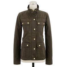 A great way to keep warm.  Love this J.Crew jacket - The downtown field jacket | Pretty Little Lairs
