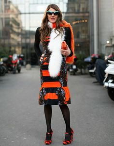 ADR in Prada>>> ADR is a little over the top for my taste, but I love her boldness.