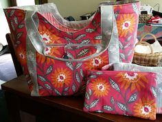 Catherine's Poolside Tote by Noodlehead