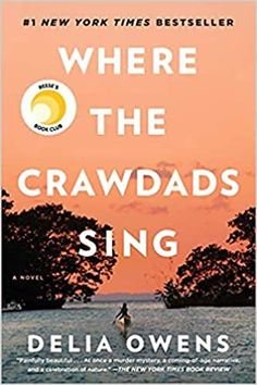 """Buy Where the Crawdads Sing by Delia Owens at Mighty Ape NZ. New York Times Bestseller A Reese Witherspoon x Hello Sunshine Book Club Pick """"I can't even express how much I love this book! Markus Zusak, New York Times, Book Club Books, Good Books, Free Books, North Carolina, Sunshine Books, Kindle, Barbara Kingsolver"""