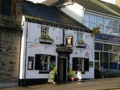 White Horse pub in Liskeard Cornwall