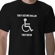 Shop Funny Handicap Shirt created by essjayf.
