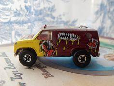 1977 Hot Wheels Mettel Car-China-Tattoo Baja by EntrancedByArt