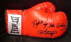 Joe Frazier Signed Everlast Boxing Glove COA « Impulse Clothes