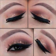 When it comes to eye make-up you need to think and then apply because eyes talk louder than words. The type of make-up that you apply on your eyes can talk loud about the type of person you really are. Prom Makeup, Cute Makeup, Gorgeous Makeup, Pretty Makeup, Wedding Makeup, Amazing Makeup, Makeup Goals, Makeup Inspo, Makeup Art