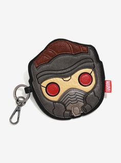 Loungefly Marvel Guardians Of The Galaxy Star-Lord Face Coin Purse | BoxLunch