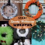 22 Handmade Ideas For Spooky Halloween Wreaths