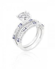April 2.6ct CZ White Gold Rhodium Ring for $29.00 at Baubles.