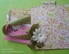 PAP Mini-cartão com bolsinha | Luciana Murta