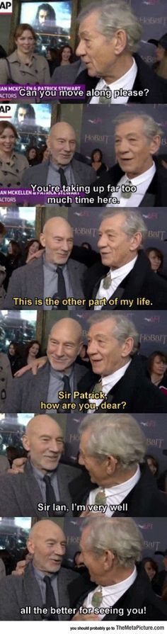 Two Gentlemen Square Off