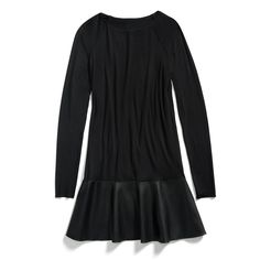 Stitch Fix Fall Stylist Picks: Leather Trim Dress