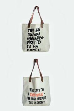 Nuevos bolsos de Canvas - #HouseDoctor #estilonordico