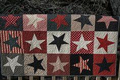 Red, White & Blue stars!.