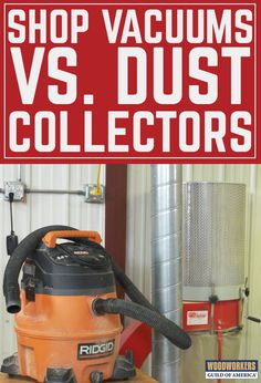 "Woodshop dust collection is a mysterious topic for many woodworkers, but we at WWGOA like to approach it in very simple terms that we can all understand. When contemplating woodshop dust collection, the first question that many woodworkers as is ""Do I really need a dedicated dust collector? Can't I just use a shop vacuum that I already have?"" That is a fair question; both tools are designed to suck air quickly and capture debris in a bag or container."