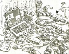 Workplace Jan. 2011 Mattias Adolfsson on Behance
