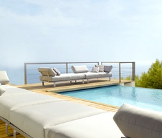 Natal Sofa by Tribù | Garden lounge | Seating