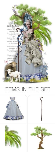 """StoryBook Doll: Little Bo Peep"" by rosie305 ❤ liked on Polyvore featuring art, dollset and artdoll"