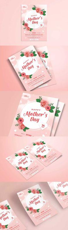 Summer Music Festival Flyer Template PSD Flyer Design Templates - mothers day flyer