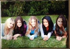 Pretty little Liars .. Hanna , Aria , Alison ,Emily , Spencer