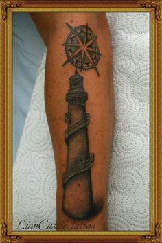 Tattoo Faro Por LionCastleTattoo
