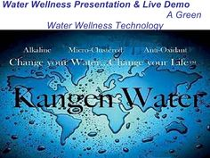 Your Body IS 75% water, what are You filling your 75% with??. The Next Mega Trend>>> www.kangenmiracle.com