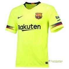 c199ff2c18d00 Tailandia Barcelona Segunda Camiseta 2018 2019 Camisetas De Fútbol