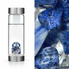 #gemwater #semipreciousstone #pierresemiprecieuse #gem #biocosmetic #savon #soap #huile #oil #wellness #creation-aum.com #Balance ViA Water Bottle :: creation-aum.com