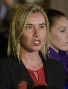 Mogherini denuncia veto de Caracas a observadores da UE (foto: EPA)